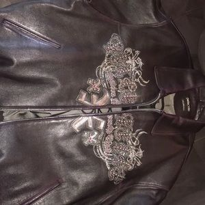 Pelle Pelle purple leather jacket
